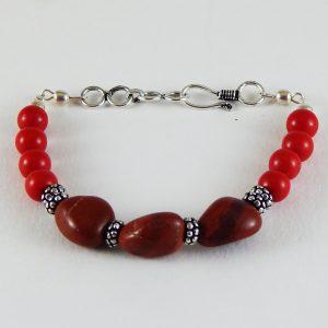 Chakra|7Chakra healing stone|stone chakra|chakra healing|Heart Chakra Bracelet|Gemstone Bracelet| Red Jasper Bracelet