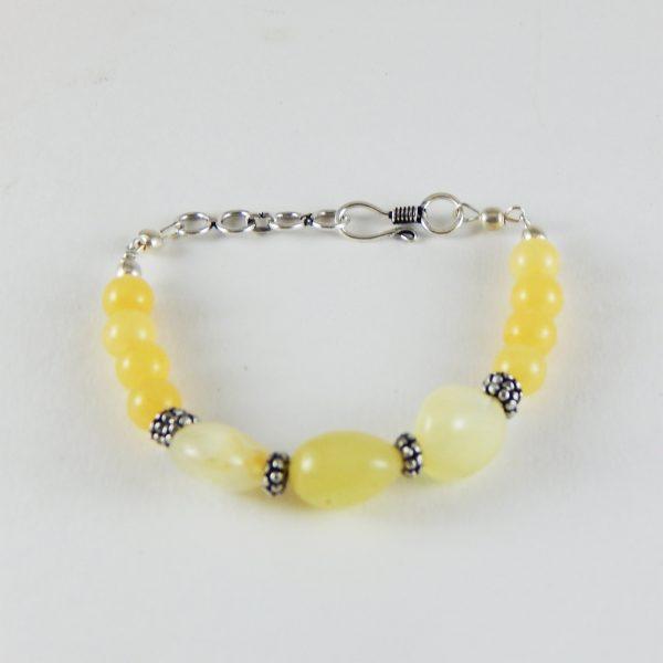 Yellow aventuren bracelet| Chakra|Heart Chakra Bracelet|Gemstone Bracelet- jayavision