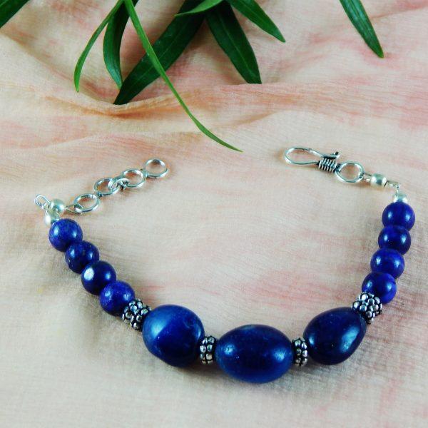 Chakra stone chakra chakra healing Heart Chakra Bracelet Gemstone beads Bracelet  Lapis lazuli bracele