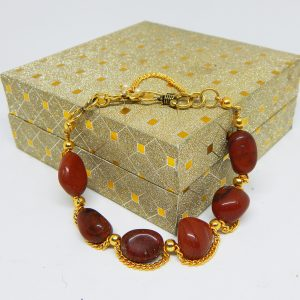 Chakra 7Chakra healing stone stone chakra chakra healing Red Jasper Bracelet