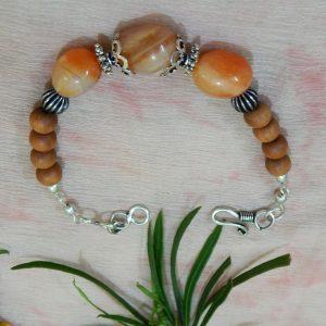 Stone with Sandal wood Bracelets